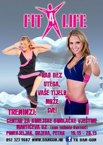 plakat fit for life